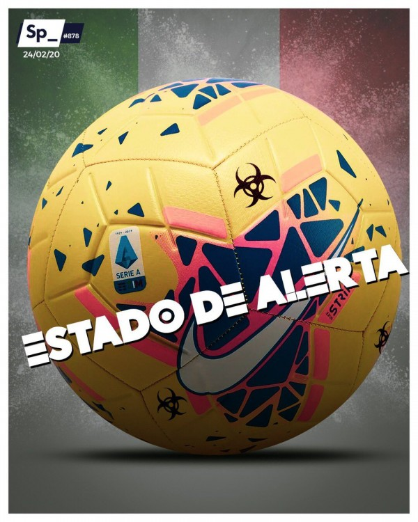 Capa do jornal Sphera Sports