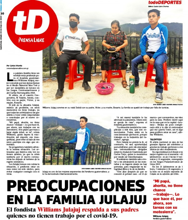 Capa do jornal TodoDeportes